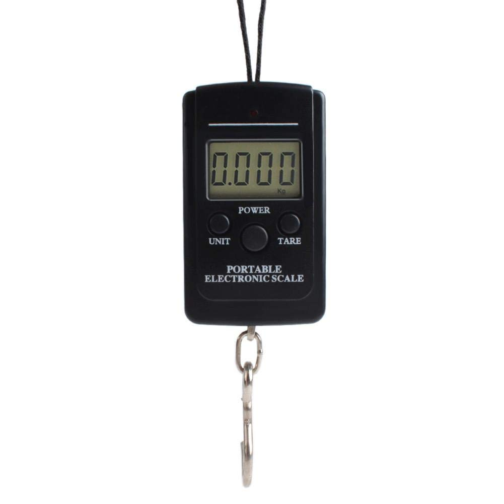 CALISTOUS Portable LED Digital Hanging Luggage Scale Travel Electronic Weight 40kg/20g