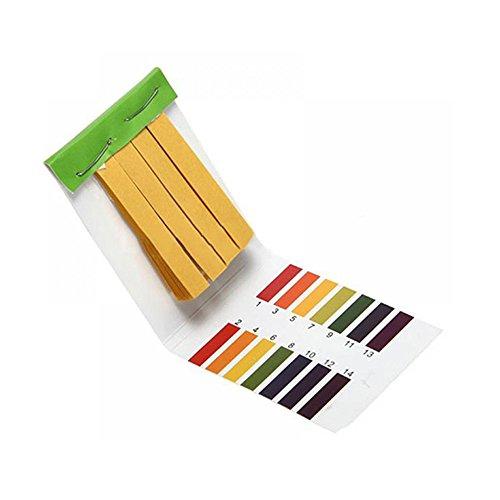 TXIN160 Strips Full Ph 1-14 Test Indicator Water Alkaline Acid Litmus Litmus Paper Strips Tester ()