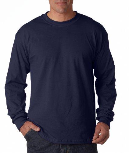 resistente Navy T 3 5 in maniche Long Shirt Blu G cotone Maglietta PE7Tw