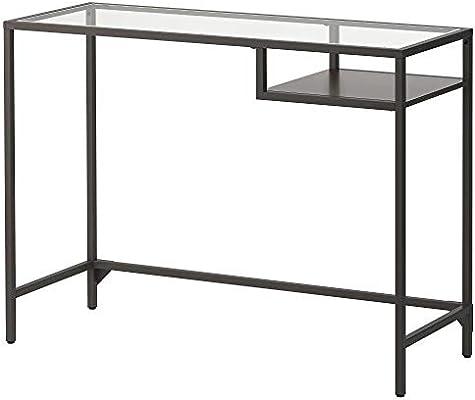 Mesa escritorio cristal ikea