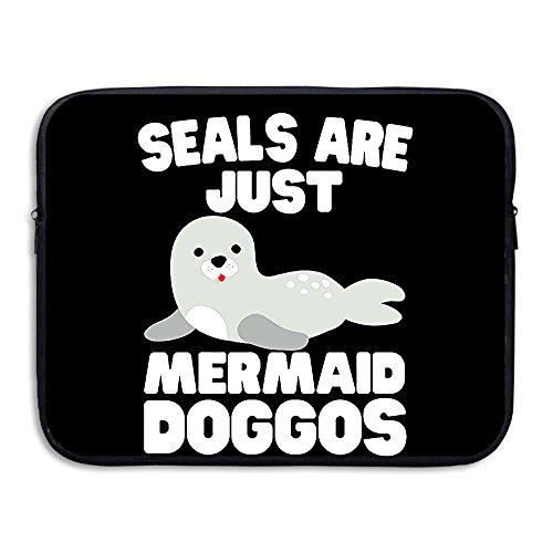 BANA Custom Sea Lion Seal Playing Tricks Marine Sealife Anti-shock Laptop Protector Case 15 Inch