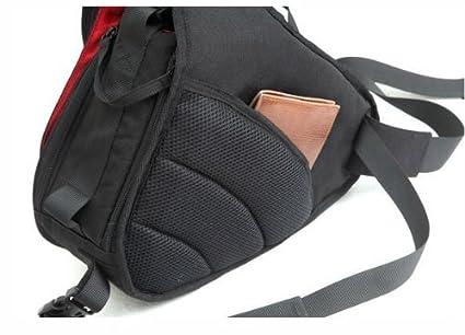 Caden K1/Professional Portable waterproof Triangle camera bag DSLR SLR zaino custodia Crossbody borsa a tracolla per Canon EOS 600D 60D 550D 7D 500D 1100D and Nikon DSLR D5100/D7000/D3100/D3000/D5000/D90/D60/D300s
