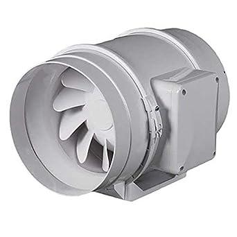 aspiratore elicoidale vents fan tt 125 mm duo doppia due velocit 220 280 mc