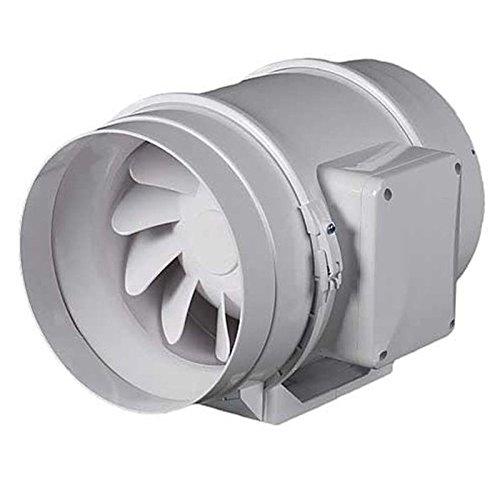 ASPIRATORE ELICOIDALE VENTS FAN TT 125 mm duo doppia due velocit/à 220-280 mc//h fan estrattore aria growroom indoor cucina bagno