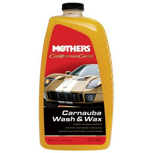 Mothers 05674 California Gold Carnauba Wash & Wax - 64 oz. (Wash Soap Car)
