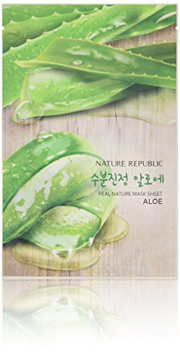 Nature Republic Real Nature Mask 10 Sheets for Skin Hydratio