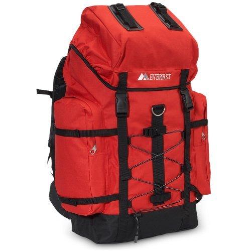 [해외]에베레스트 정글 카모 하이킹 팩 RED/Everest Jungle Camo Hiking Pack RED