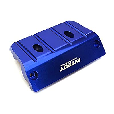Integy RC Model Hop-ups C28978BLUE Billet Machined Front Skid Plate for Arrma 1/8 Outcast 6S BLX (AR320363): Toys & Games