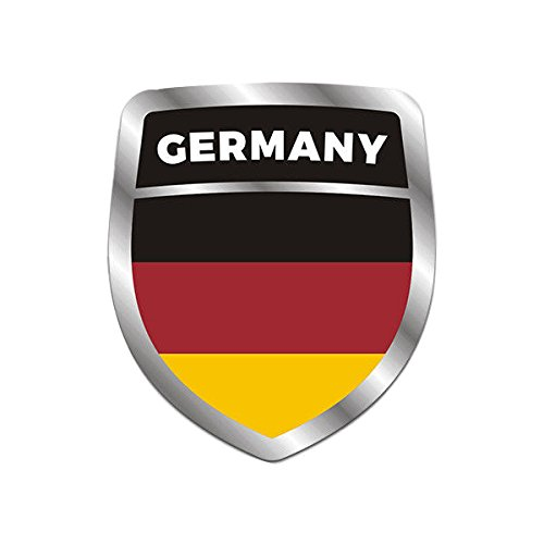 Germany Flag Shield 3