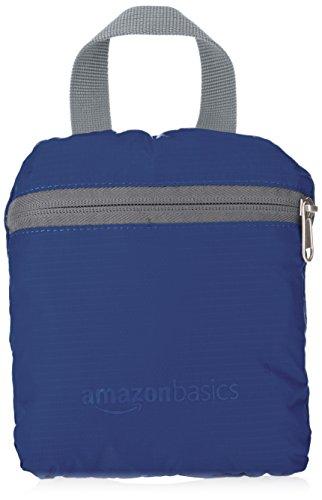 AmazonBasics - Mochila ligera plegable Azul marino