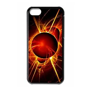 abstract sun 2 iPhone 5c Cell Phone Case Black 53Go-185680