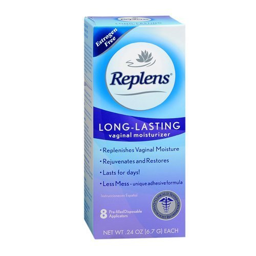 (Replens Long-Lasting Vaginal Feminine Moisturizer 8 Prefilled Applicators, 0.24 oz ea by Replens)