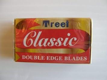 Amazon.com: Treet Classic Double Edge Razor Blades - 30 Ct: Beauty