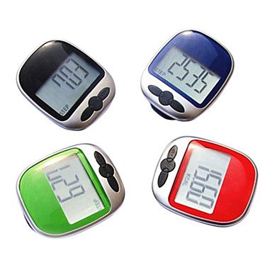 Large Display Jogging Step Pedometer Walking Calorie Distance Counter