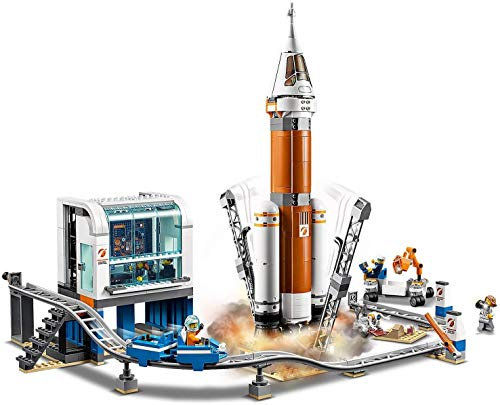 LEGO City Space 60228 Deep Space Rocket and Launch Control (837 Parts)