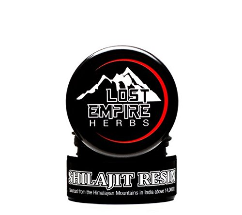 Pure Himalayan Shilajit Resin - Minimally Processed Adaptogenic Supplement, Packed With Antioxidants, Anti-aging Effects, Liver and Kidney Detox - (10 g) by Lost Empire Herbs