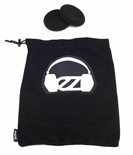 EARZONK Plush Travel Bag for Grado Headphones ()