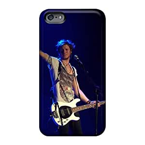 Iphone 6plus LPj5003qglg Customized Realistic Mcfly Band Image Perfect Cell-phone Hard Cover -SherriFakhry