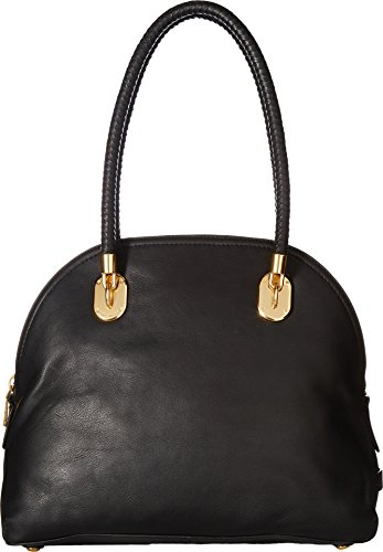 Cole Haan Women's Benson II Dome Satchel Black One Size Cole Haan Handbag Purse