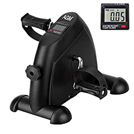 Mini Exercise Bike Pedal Exerciser Arm and Leg Cycle Exercis...