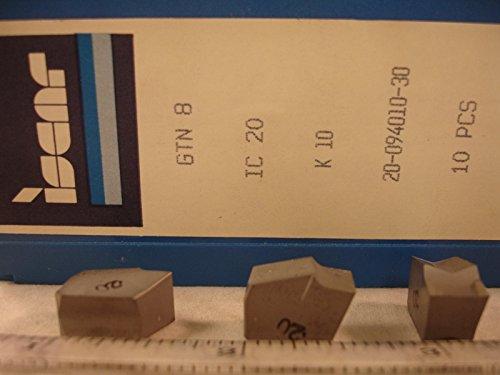 (Iscar - Gtn 8 Ic20 Iscar Carbide Grooving Inserts (10Pcs))