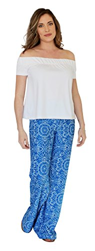 Tucker Wide Leg Palazzo Pant in Up Until Dawn (XS) by Kaeli Smith