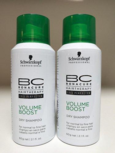Schwarzkopf BC Bonacure Volume Boost Dry Shampoo - Set of 2 - 2.1 oz ()