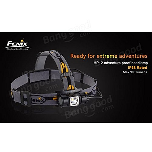 FENIX Headlamp Cree XM-L2 LED 900lumens High Power Headlight Waterproof By 18650