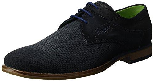 Bugatti 311249011400, Zapatos de Cordones Derby para Hombre Negro (Schwarz 1000)