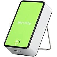 BestOfferBuy Mini Handheld Portable Cooli Bladeless Air Conditioner Cooling Fan Green