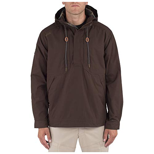 (5.11 Tactical Men's Taclite Anorak Jacket, 100% Cotton Twill, Breathable Interior, Style)