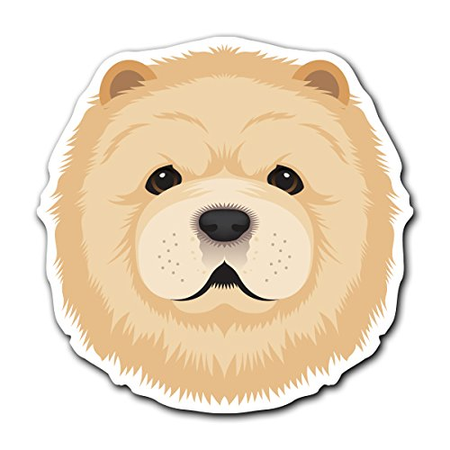 - Chow Chow - [CUSTOMI] Dog Breed Decal Sticker for Car Truck Macbook Laptop Air Pro Vinyl