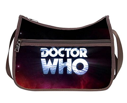 Price comparison product image Fashion Ladies Girl Hobo Handbag Shoilder Bags with Doctor Who Logo Print