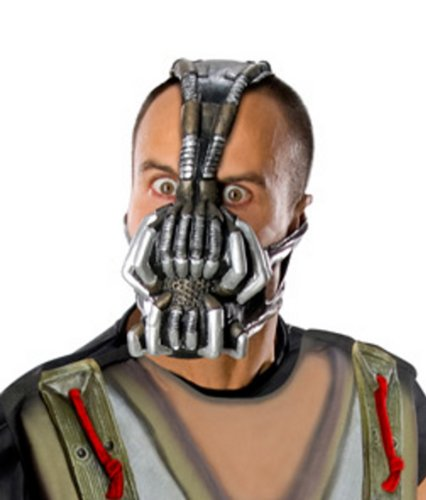 Batman The Dark Knight Rises Three-Fourth Bane Mask, Multi-Colored, One Size - Bane Mask With Voice Changer
