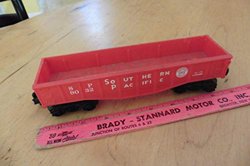 Lionel O Scale Southern Pacific Gondola # 9032 RED, used for sale  Delivered anywhere in USA