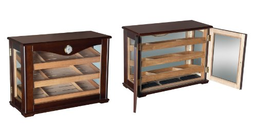 Prestige Import Group 250 Count Cigar Countertop Display Humidor w/ Trays by Prestige Import Group