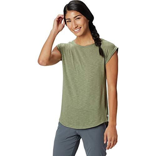 Mountain Hardwear Everyday Perfect Short-Sleeve T-Shirt - Women's Light Army, XS