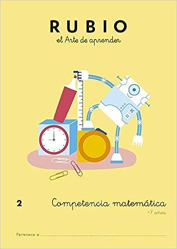 Competencia matemática RUBIO 2: Amazon.es: ENRIQUE RUBIO POLO, SLU ...
