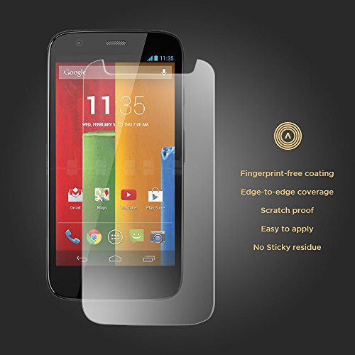 Accessorizer Tempered Glass Shatter Proof Scratch Guard Protector for Motorola Moto G