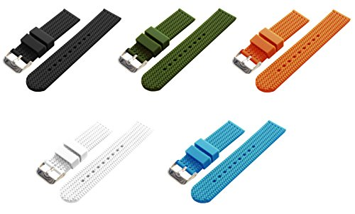 barton-watch-bands-choice-of-colors-widths-18mm-20mm-22mm-or-24mm-soft-silicone-rubber-straps