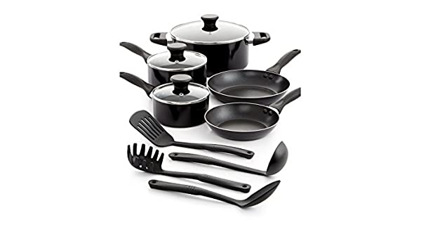 Amazon.com: Tools of the Trade Nonstick Aluminum 12 Piece ...