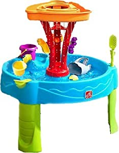 Step2 Summer Showers Splash Tower Water Table - Adult Assembly Required (Screwdriver not included)