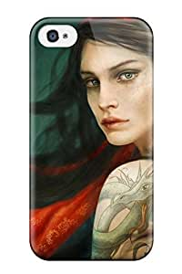 Hot ZQmIeaY11184VJVWy Case Cover Protector For Iphone 4/4s- Women