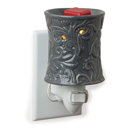 Candle Warmers Etc. Pluggable Fragrance Warmer, Rainstorm (Ins Scentsy Bulbs For Plug)