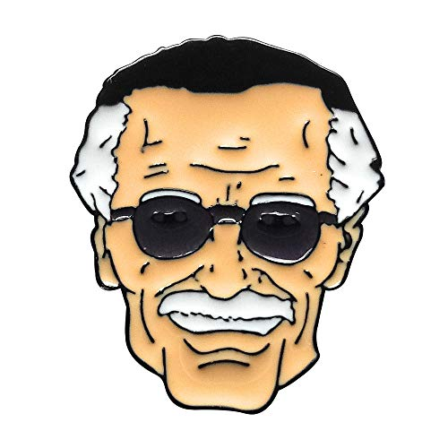 Stan Lee Enamel Pin by 44Cloverdale]()