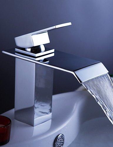 Zeitgenössische WasserfaÖl Waschbecken Wasserhahn