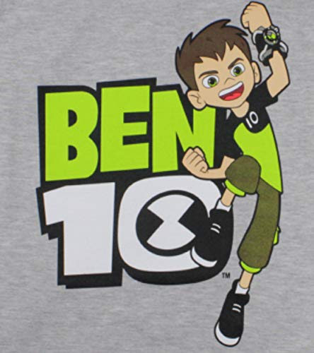 Cartoon Network Ben 10 Pigiama lungo in cotone motivo