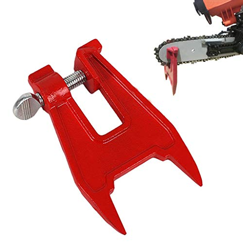 2019 New Stump Vise Saw Chain Sharpening Filing Tool Bar Clamp Chainsaw Accessories by BBtime - 12.5x8cm/4.92''x3.15 (Best Small Chainsaw 2019)