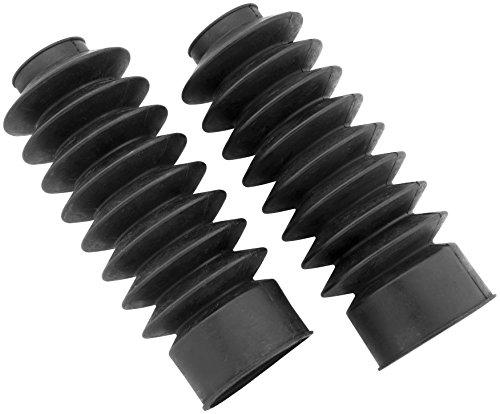 Black Retro Fork Boots (BIKER'S CHOICE BC 41MM BLK FORK BOOTS 666766)