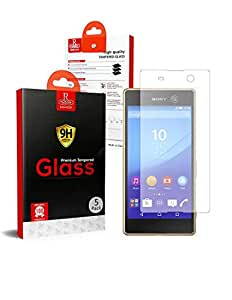 Sony Xperia M5 Remson Tempered Glass Screen Protector 5 PACK - Clear